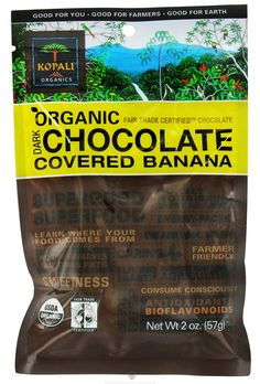 Kopali Organics - Organic Dark Chocolate Covered Banana