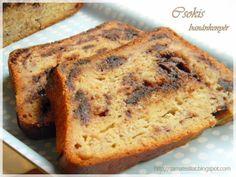 Csokis-mézes banánkenyér Muffin, Banana Bread, Food And Drink, Cukor, Recipes, Foods, Food Food, Food Items, Recipies
