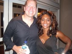 Comedian Gary Owen and wife Kenya. as a white guy married to a beautiful black woman myself, this guy cracks me up. He's really really funny. Interracial Family, Interracial Dating Sites, Interracial Marriage, Mature Interracial, Black Woman White Man, Black And White Love, Black Girls, Mixed Couples, Couples In Love