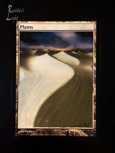 Plains - Full Art - MTG Alter - Revelen's Light Altered Art Magic Card