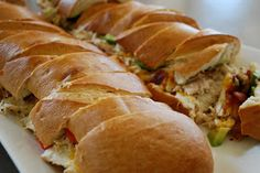 Our Family Treat: French Bread Chicken Sandwich