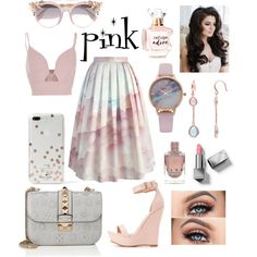 A fashion look from May 2017 by nmnightmarex featuring River Island, Chicwish, Charlotte Russe, Valentino, Vivani, Jimmy Choo, Kate Spade, Burberry and Refuge