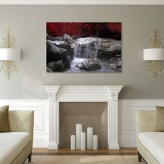 Shop for Philippe Sainte-Laudy 'Red Vison' Canvas Art. Get free delivery at Overstock.com - Your Online Art Gallery Store! Get 5% in rewards with Club O!