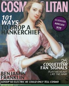 18th century cosmo.. this could be a cool history project for students to do!