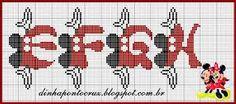 Resultado de imagen para monograma mickey