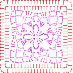 Chart 7 for Coral on the Summer CAL - LoveCrochet blog