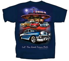 Chevy Nighttime Drive-In T-Shirt