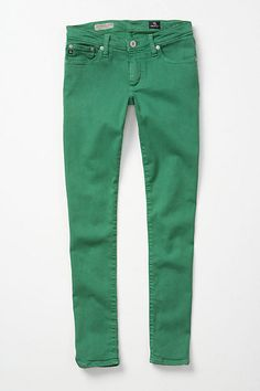 Kelly green jeans!
