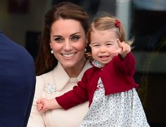 At a special reception at Buckingham Palace for Britain's leading athletes, Kate Middleton gushed about her daughter Charlotte's love of horses. And from the sound of things, it was royally adorable.