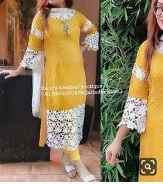 Salwar Neck Designs, Kurta Neck Design, Kurta Designs Women, Blouse Designs, Stylish Dresses For Girls, Stylish Dress Designs, Designer Party Wear Dresses, Kurti Designs Party Wear, Pakistani Dresses Casual