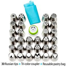 Aliexpress Pieces Set Russian Stainless Steel Icing Piping