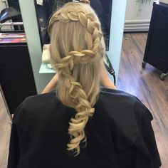 Braid for medium hair or long hair