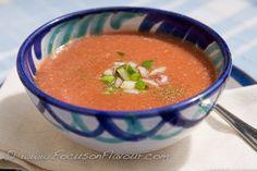 Skinny gazpacho