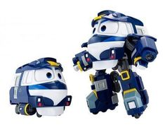 Robot trains sticker collection