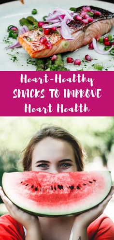 Looking for heart healthy recipes, including heart healthy snacks for a heart healthy diet? These heart month ideas are healthy snacks you'll love. #snacks #hearthealth #hearthealthy #heartmonth #nutrition #heartfoods #runnerfoods #healthydiet #omega3 Heart Healthy Snacks, Quick Healthy Meals, Healthy Eating Recipes, Healthy Tips, Diet Plans For Women, Diets For Women, Healthy Nutrition, Nutrition Tips, Heart Month
