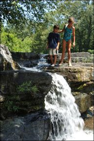Natural waterfalls in Arkansas Descriptions and directions