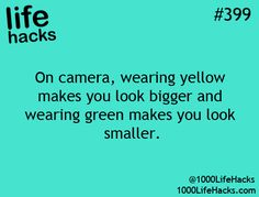 I knew I didn't like yellow for a reason