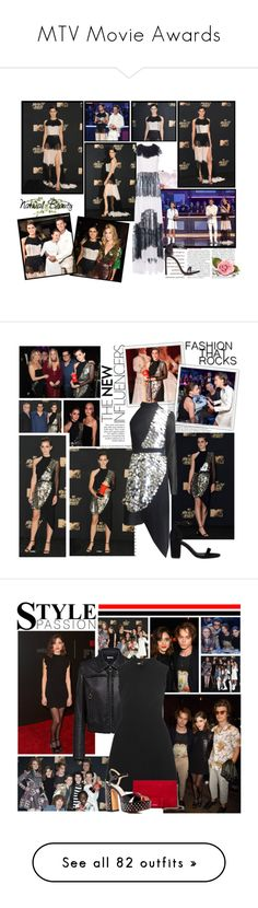 """""""MTV Movie Awards"""" by snugget9530 ❤ liked on Polyvore featuring Oris, Jonathan Adler, CATERINA GATTA, Jerome C. Rousseau, jared, Christian Louboutin, Emma Watson, ASOS, Millà and Sia"""