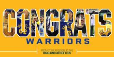 The Golden State Warriors are 2015 NBA Champions!! Congratulations @warriors!!