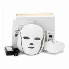 Led Facial Mask With Neck Skin Rejuvenation Face Care Treatment Beauty Anti Acne Therapy Whitening Instrument Led Therapy, Led Light Therapy, Led Facial, Facial Masks, Light Therapy Acne Mask, Glow, Waterproof Eyebrow, Remove Acne, Ideas