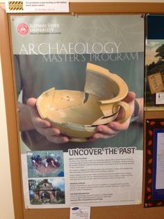 The archaeology master's program at Illinois State is promoted at Schroeder Hall. Illinois State, Masters Programs, Archaeology, Programming, The Past, Success, Computer Programming, Coding