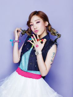 "Girls' Generation - Casio ""Kiss me Baby-G"" - Taeyeon"