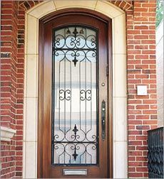 Wrought Iron Window Grill on an entry door♥ & Cher is back on the charts with \u0027Woman\u0027s World\u0027   Window grill ... Pezcame.Com