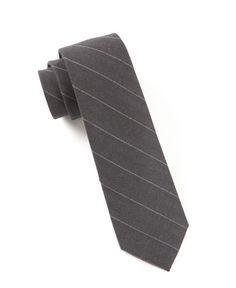 Adams Stripe Ties - Silver | Ties, Bow Ties, and Pocket Squares | The Tie Bar