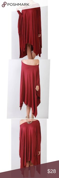 Poncho Off Shoulder or On Shoulder Oversized Tunic Poncho Off Shoulder or On Shoulder Oversized Tunic Tops Blouses