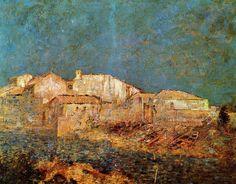 Odilon Redon   Venetian Landscape
