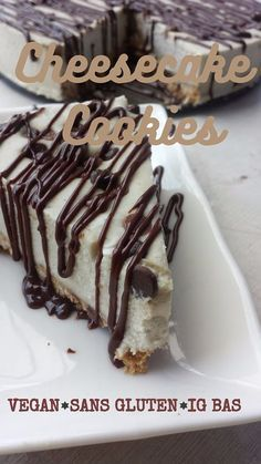 cheesecake cookies vegan ig bas sans gluten sans sucre