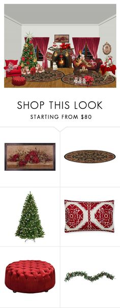 """""""Christmas Stocking, Quilted Christmas Stocking, Handmade Stocking Child's Christmas Stocking Teddy Bear Stocking, Dolly stocking Tin Soldier"""" by bamasbabes ❤ liked on Polyvore featuring National Tree Company, Williams-Sonoma, Moe's and Improvements"""