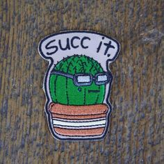 #Repost @booniepatchco RESTOCKED AGAIN Make sure you grab him this time! We all know he has the same outlook on life that you do.. booniepatchco.com #succit #lifesuccs #succulent #cactus #patch #patchgame #itmatterswhereyoumakeit (Posted by https://bbllowwnn.com/) Tap the photo for purchase info. Follow @bbllowwnn on Instagram for great pins patches and more!