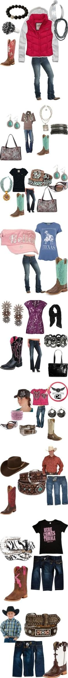"""My Cowgirl Life"" by rodeorosecowgirlboutique on Polyvore by MagnoliaBoho"