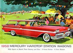 '58 Mercury Hardtop Wagons