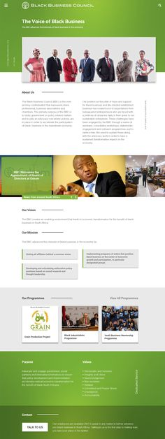 Black Business Council Website Redesign Proposal