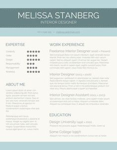 Free Blanks Resumes Templates | Posts related to Free ...