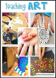 Explore cultural art using simple supplies and step by step directions! This huge collection has hundreds of ideas with step by step photos for grade one or grade two arts and crafts lessons. #art #crafts #artactivities #arthistory #paperart