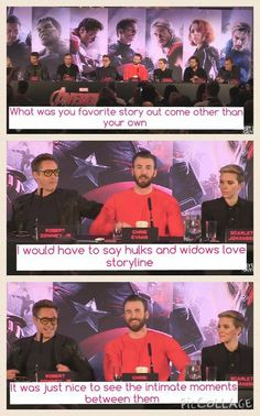 hulk and black widow  captin america supports them sorry to all the romanogers shippers