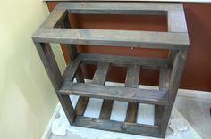 """An Affordable, Functional, and Attractive """"Do It Yourself"""" Aquarium Stand  This is how I built an aquarium stand that will accommodate multi..."""