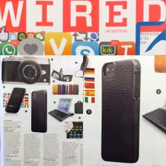 WIRED UK reminds us that tech is always on trend. The ADOPTED Leather Wrap Case in Pewter/Gunmetal takes center as a must have holiday gift.   #accessories #holiday #gift #press
