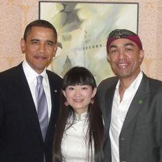 Barack and brother Mark Ndesanjo Obama met in China in 2009.