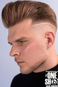 Undercut With Pompadour ❤ Do you know how many undercut men hairstyles are there? More than we can count! Check out these ideas to keep up with trends and find the best for you. #undercutmen #lovehairstyles #hair #hairstyles #haircuts Tapered Undercut, Undercut Men, Undercut Hairstyles, Trendy Mens Hairstyles, Haircuts For Men, Short Hair Cuts, Short Hair Styles, Undercut Designs, High And Tight