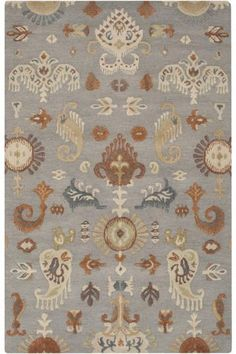 Cane Area Rug - Hand-hooked Rugs - Wool Blend Rugs - Transitional Rugs | HomeDecorators.com