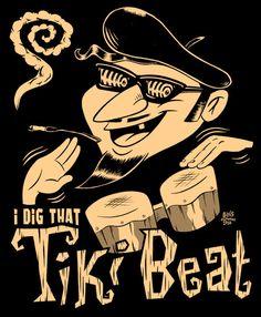 98bottles.com — Tiki Beatnik. Beatikinik & bongos (please follow minkshmink on pinterest)
