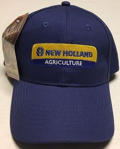New Holland Agriculture Hat Duppong Inc Baseball Cap Glen Ullin North  Dakota ND  KProducts   15d7170874ac