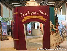 fairy tale library decor - Google Search