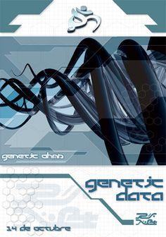genetic data flyer by cucaqk Brochure Design, Genetics, Pamphlet Design