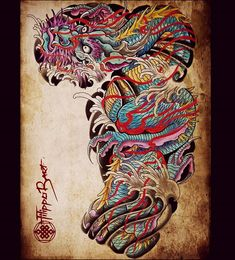 Thanx fo looking. Japanese Tattoo Art, Japanese Sleeve Tattoos, Full Sleeve Tattoos, Japanese Art, Koi Tattoo Design, Japan Tattoo Design, Bild Tattoos, Body Art Tattoos, Tattoo Ink