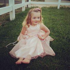 Pale pink fancy dress